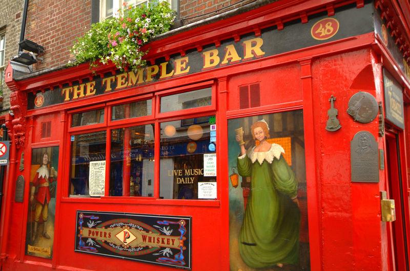 The Temple Bar Pub Dublin Irland