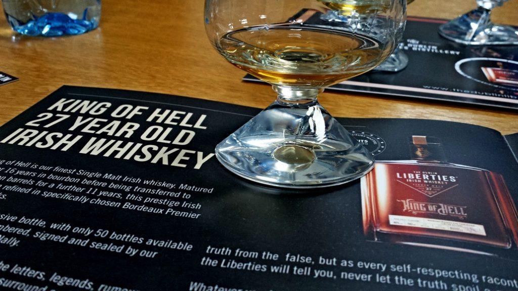 Whiskey Live Dublin Erfahrungen 2019 Dublin Liberties Distillery King of Hell