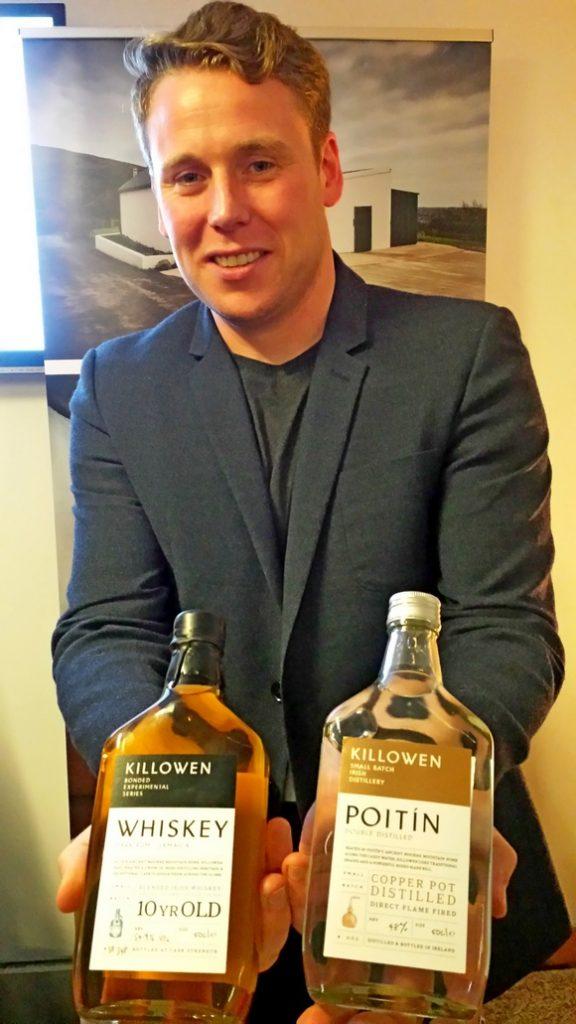 Killowen  Distillery Brendan Carty