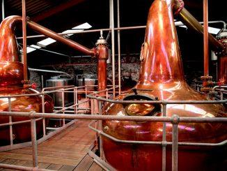 Whiskey-Export aus Irland