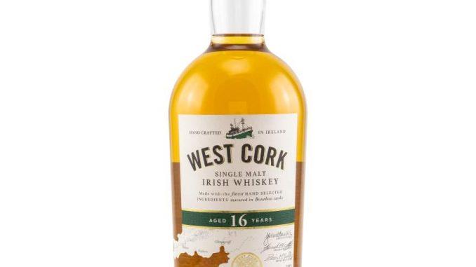 West Cork 16 year old Single Malt Irish Whiskey
