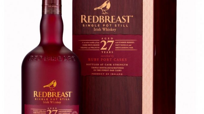 Redbreast 27 year old Ruby Port Casks