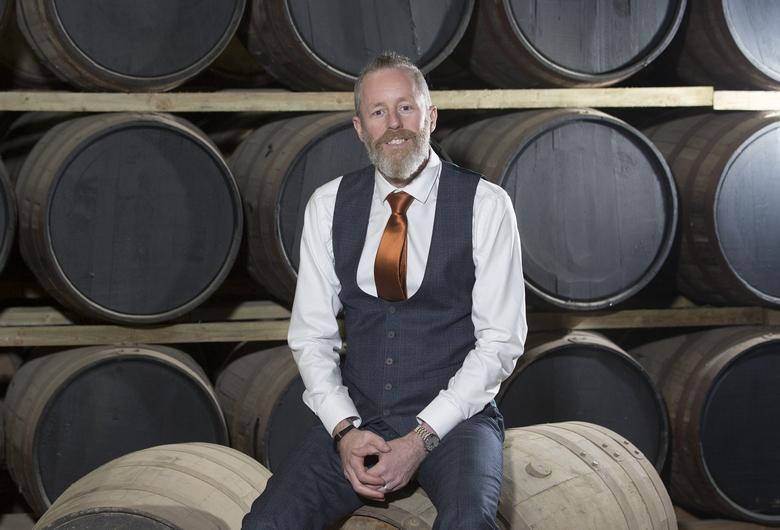 Jarlath Watson, ambassadeur de la marque Dunville
